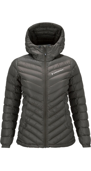 Peak Performance W's Frost Down Hood Jacket Black Olive